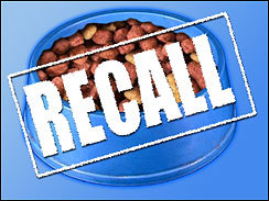 Pet Pride Cat Food Recall
