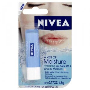 Free Nivea Lip product Coupon in the mail