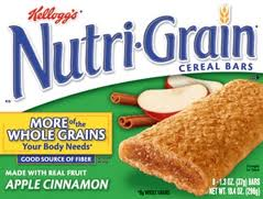 Nutri-Grain Cereal Bars Coupon