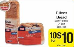 dillons bread deal Dillons Deals 10/24 10/30