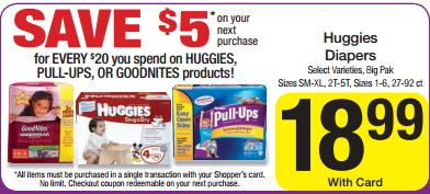 dillons huggies catalina1 Dillons Deals 10/31 11/6 (Mega Event Sale this week)