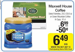 maxwell house dillons Dillons Deals 11/7 11/13 (Mega Event Continues this week)