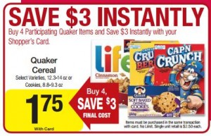 dillons quaker deal 300x193 Dillons Deals 12/5 12/11