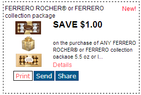 Ferrero rocher coupon printable 2018