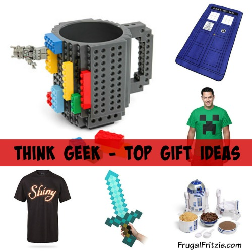 Think Geek: Fun Gift Ideas + Free Shipping ANY Order