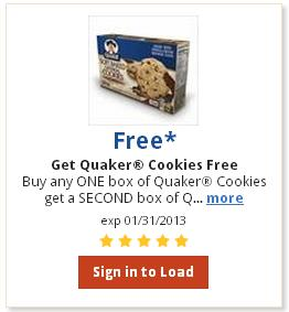 quaker cookies coupon 2 Rare $3/$50 Dillons Grocery Coupon (+ $3/10 beverages, $1.50/1 Tide, Simple Truth coupons & more)
