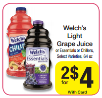 welchs juice dillons Hot! $0.75/1 Welch's Light Grape Juice Coupon (Only $1 at Dillons)