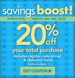 joann fabrics coupon