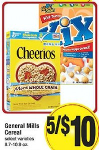 price cutter cereal 198x300 Price Cutter Deals | Week of 2/27 3/5