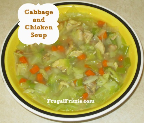 Easy Cabbage and Chicken Soup Recipe