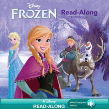 disney frozen read along storybook
