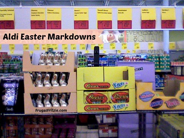 Aldi Easter Markdowns on Toys Candy (+ Freeosk Freebie at