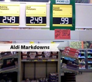 aldi easter markdowns