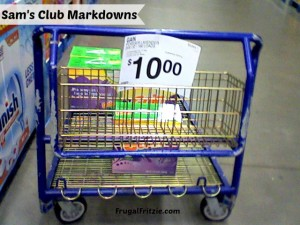sams club markdowns