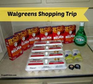 my walgreens shopping trip