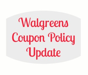 walgreens coupon policy
