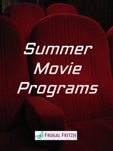 free summer movie programs