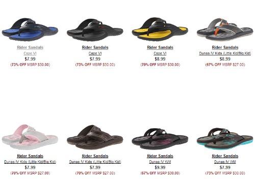 bf1defa1de71 Rider Sandals  7.99 Shipped for Men