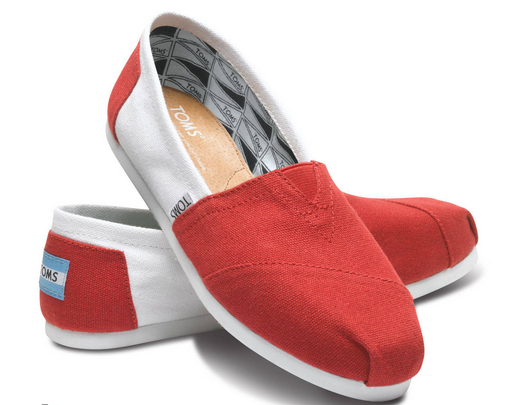 2. TOMS does not offer direct exchanges, but they do offer free returns. So if you are questioning a size or a style, you're better off ordering multiple options and returning the unwanted ones later. 3. If you're planning on buying more than 20 pairs of shoes, get in touch with TOMS for a bulk discount. 4.
