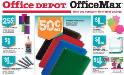 Office Depot Back to School