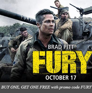 Fury Movie Tickets