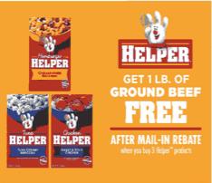 Free Ground Beef
