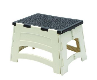 Easy Reach One Step Folding Stool 7 88 300 Lb Capacity