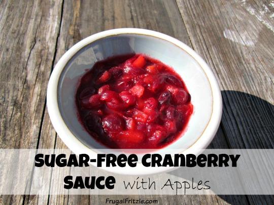 Sugar-Free Cranberry Sauce