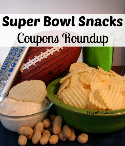 Super Bowl Snacks Coupons