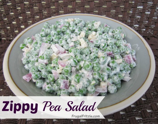 Zippy Pea Salad