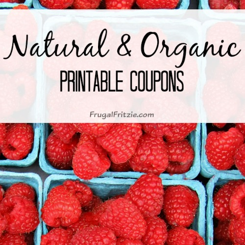 photograph about Organic Printable Coupons called Natural and organic and Natural and organic Printable Discount coupons Roundup Listing