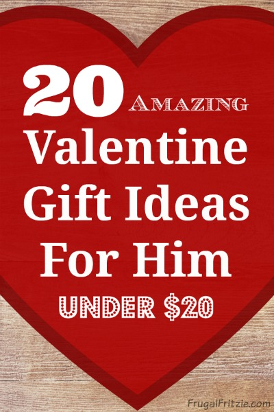 20 amazing valentine gift ideas for him under 20 for Small valentines gifts for him