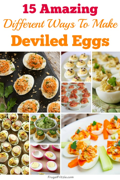 Different Ways to Make Deviled Eggs