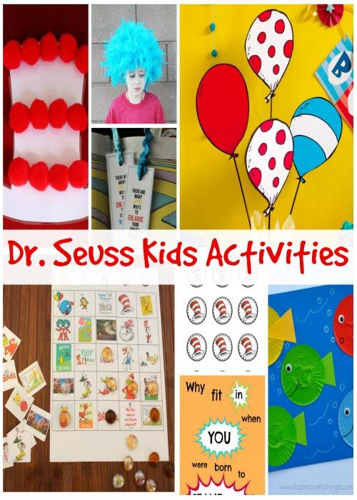 Dr. Seuss Kids Activities