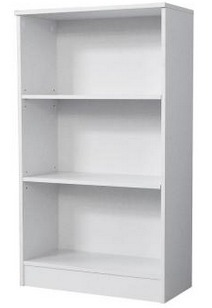 Hampton Bay 3 Shelf Bookcase
