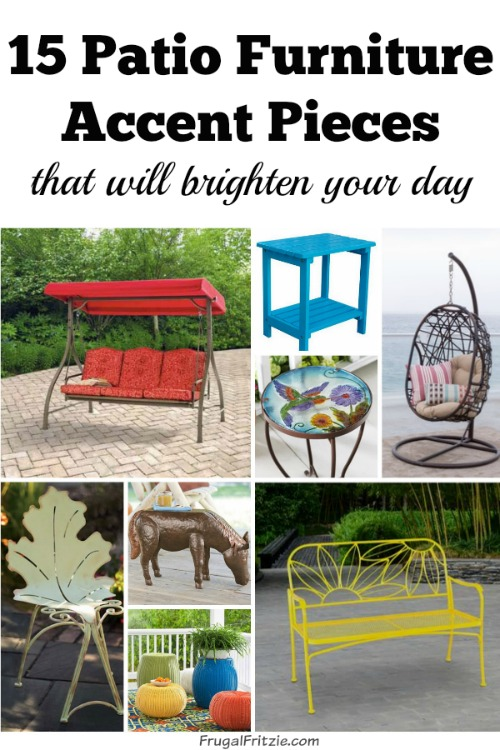 15 patio furniture accent pieces that will brighten your day - Must have pieces for your patio furniture ...