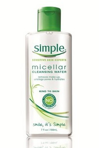 Free Simple Micellar Cleansing Water