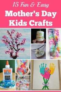 Easy Mothers Day Kids Crafts