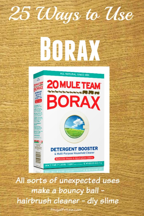 25 Ways to use borax