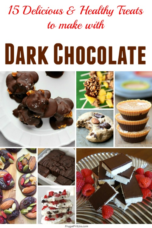 Healthy and Delicious Treats to Make with Dark Chocolate