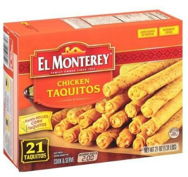 El Monterey Corn Taquitos Coupon