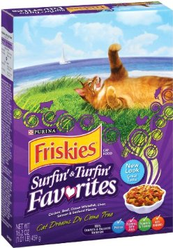 FREE Friskies Dry Cat Food