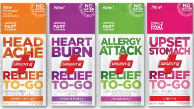 FREE UrgentRx Relief To-Go Packets