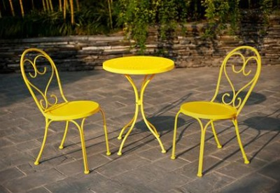 Outdoor Bistro Set Great Table Modern