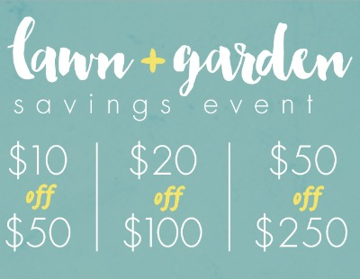 Big Lots Lawn and Garden Coupons