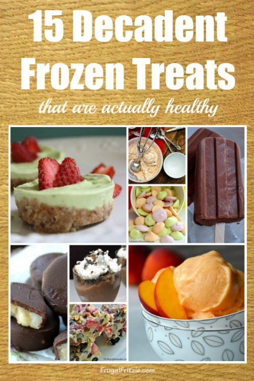 Decadent Frozen Treats