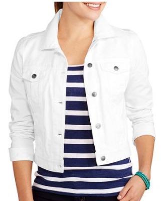 b5b32a07561 Faded Glory Womens Classic Denim Jacket ( 11 Walmart)