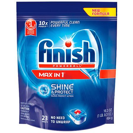 Finish dishwasher gel packs coupons