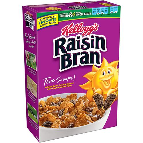 Kelloggs Raisin Bran Cereal Coupon