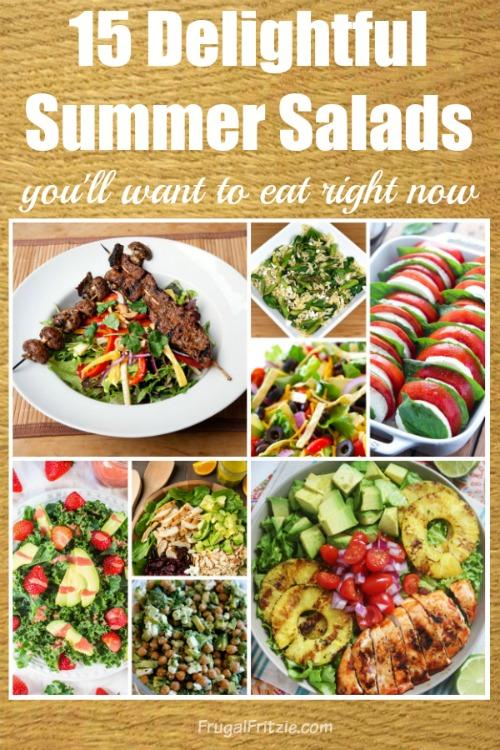 Delightful Summer Salads